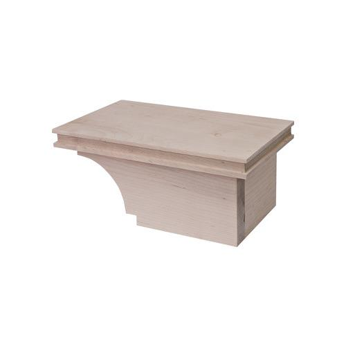 Hafele 634.29.022 Cabinet Foot, Transitional, 4