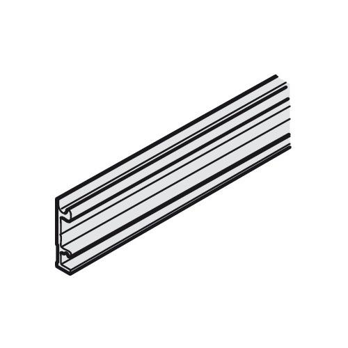 Hafele 941.25.830 Mounting rail, pre-drilled, width 8 mm