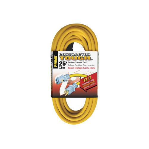 Hafele 008.74.200 Extension Cord, Contractor Grade with Primelight® Indicator Light