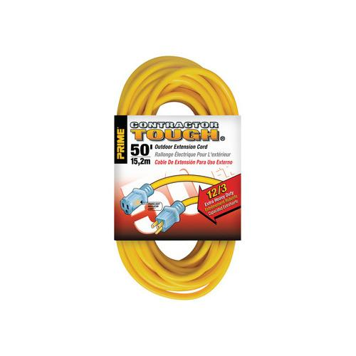 Hafele 008.74.201 Extension Cord, Contractor Grade with Primelight® Indicator Light