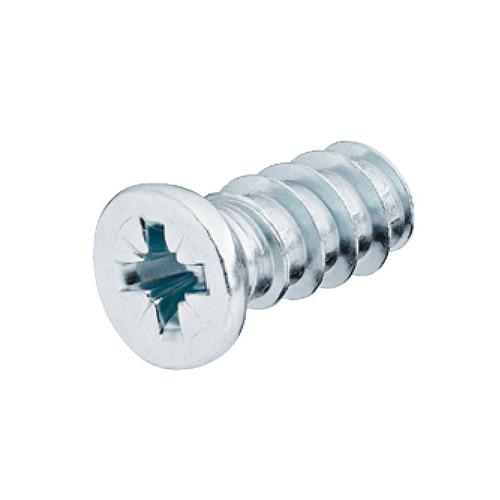 Hafele 012.20.949 Varianta Euro Screw, with Special Cylinder Head, #2 Pozi Drive, Bulk Pack