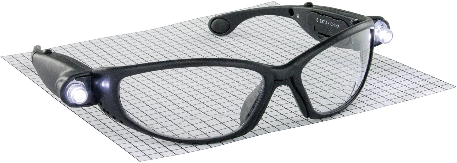 Hafele 007.48.045 Safety Glasses with LED
